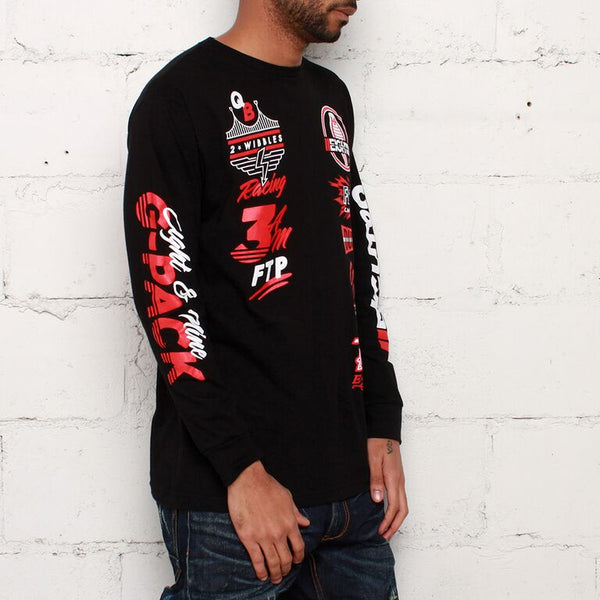 8and9 bred jordan streetwear long sleeve shirt match