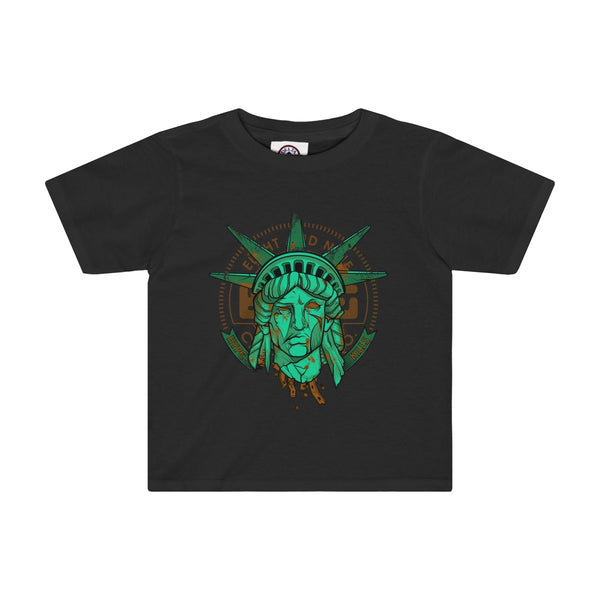 Hype Kills Statue Of Liberty T-Shirt Black Toddler Quickstrike
