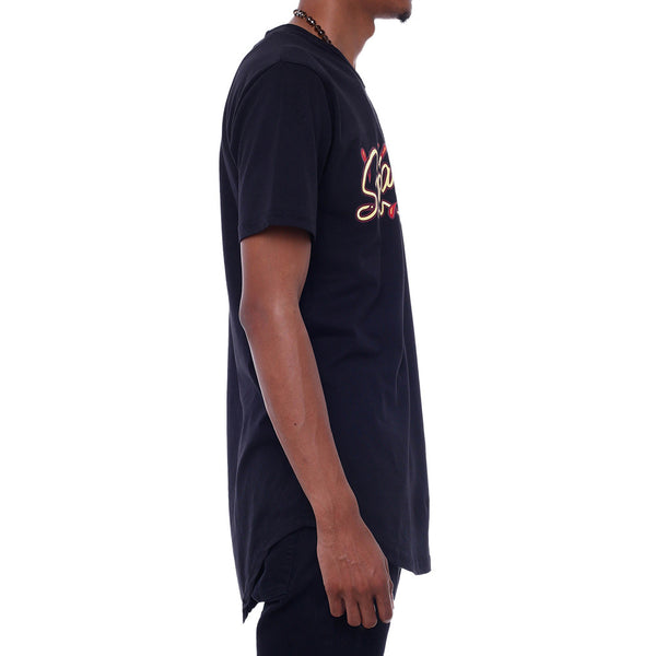 Angry Meatball Extendo T Shirt Black