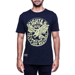 Weather SS T Shirt Black Coal