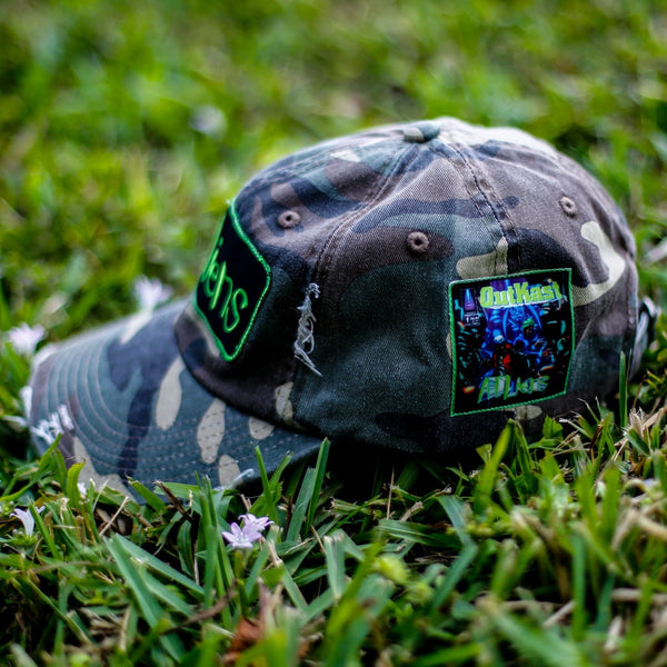 Atliens Distressed Vintage Hip Hop Hat Camo (2)