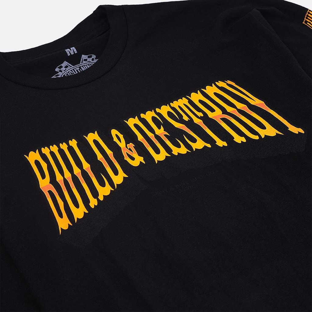 build and destroy shirt
