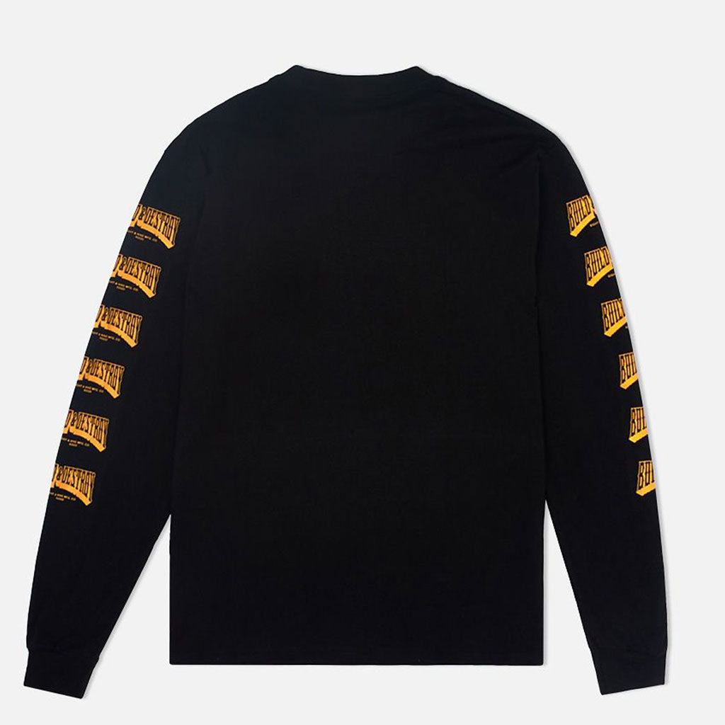 B&D Long Sleeve T Shirt Black
