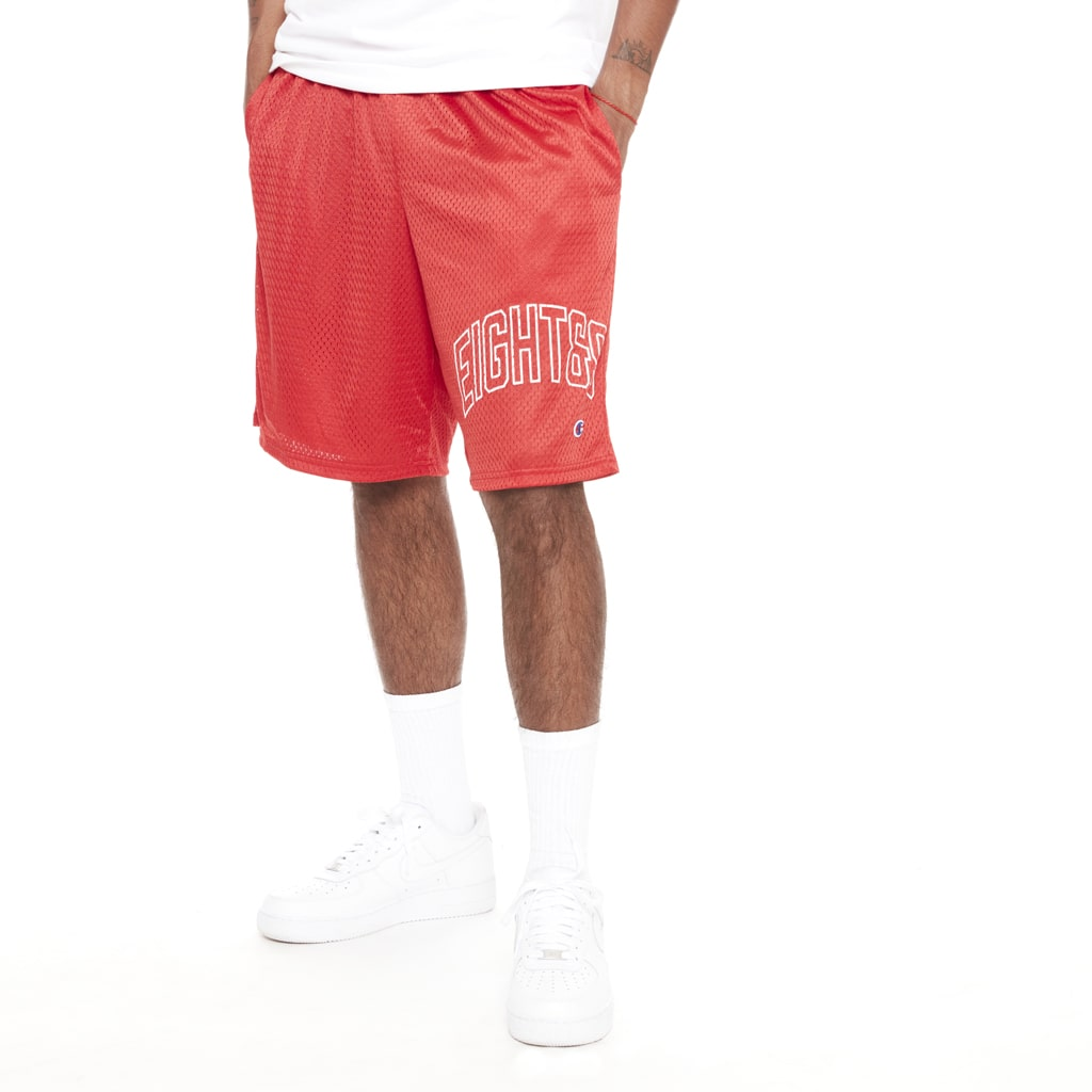 Ballin Champion Shorts Red