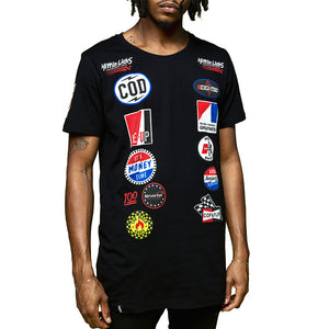 Benjis Racing T Shirt Black