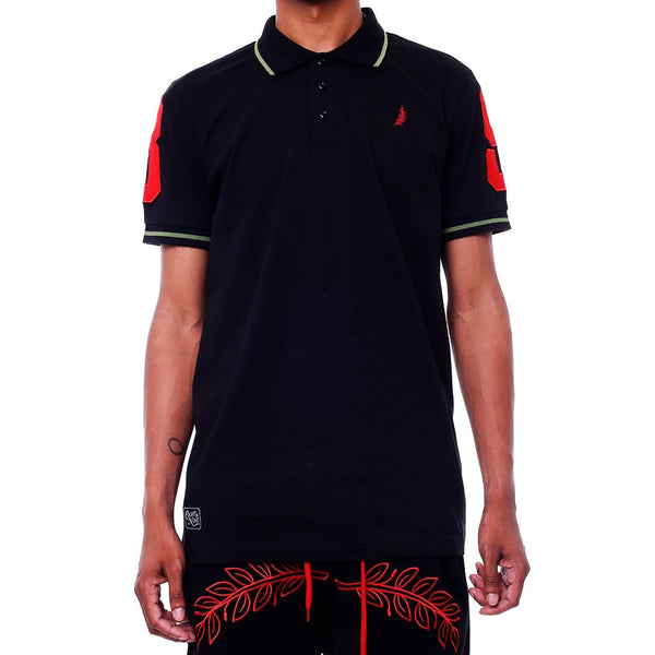 Bereaved Polo Shirt Black