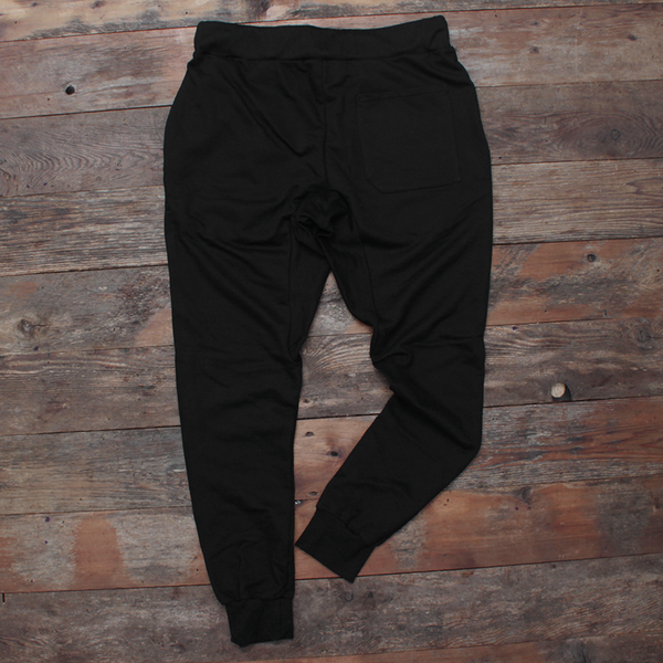 Keys French Terry Yard Sweats Black/Red - 2