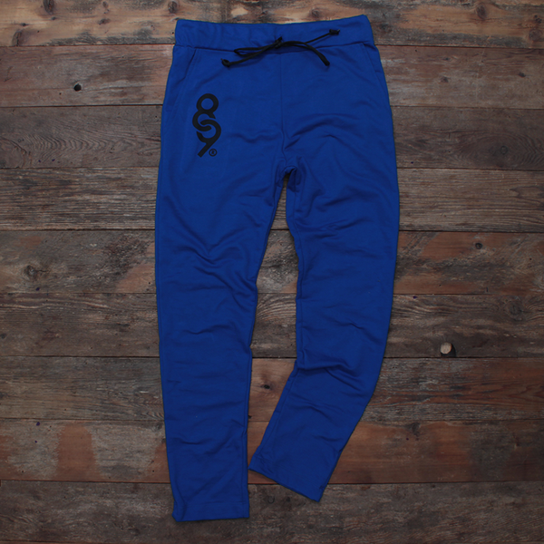 Keys Tailored French Terry Sweats Sport Blue - 1