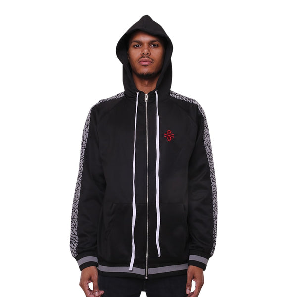 Bones Double Stripe Jacket Cement