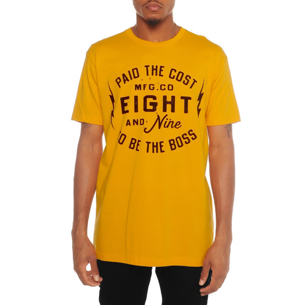 Boss Talk T Shirt Yellow