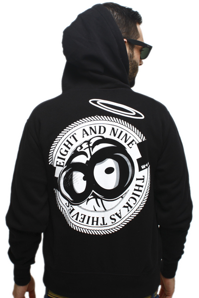 Thick As Thieves Zip Up Sweatshirt