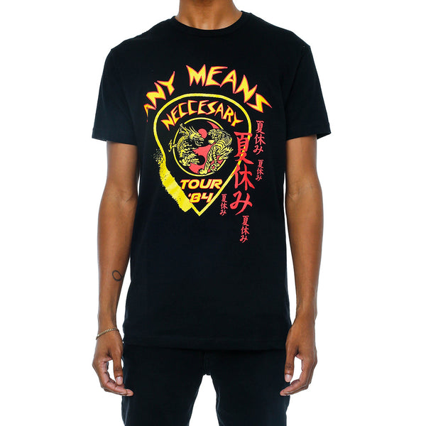 Budokai Vintage Tour Shirt Black