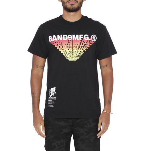 Burst T Shirt Black