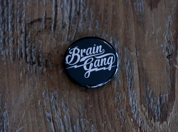 BG MLB Button Pin Black