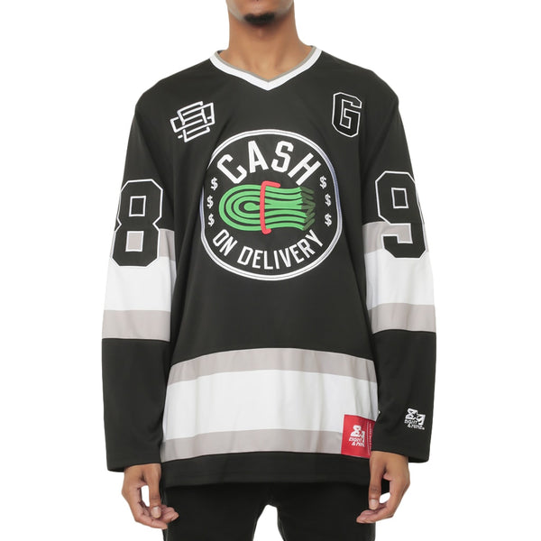 5f08dc0f068 COD Vintage Hockey Jersey | Cash On Delivery Hip Hop | Hood Scouts | 8&9  Clothing Co.