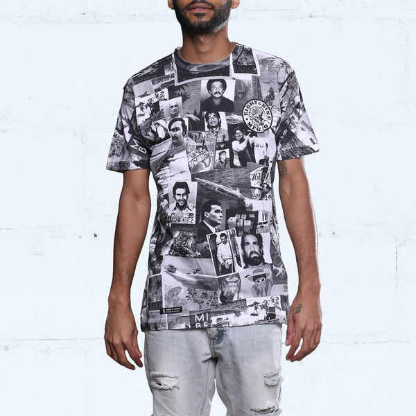 Cartel All Over Print T Shirt Black