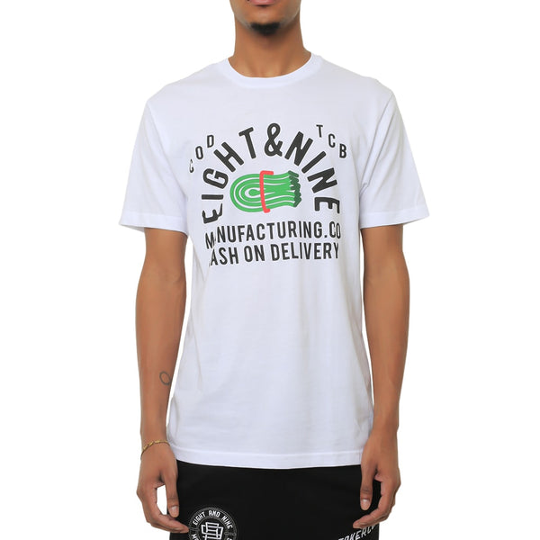 Cash On Delivery T Shirt White
