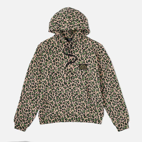 Cheetah Camo Cozy Hooded Sweatshirt