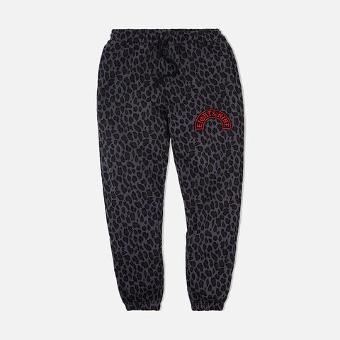 Cheetah Camo Cozy Sweatpants Black