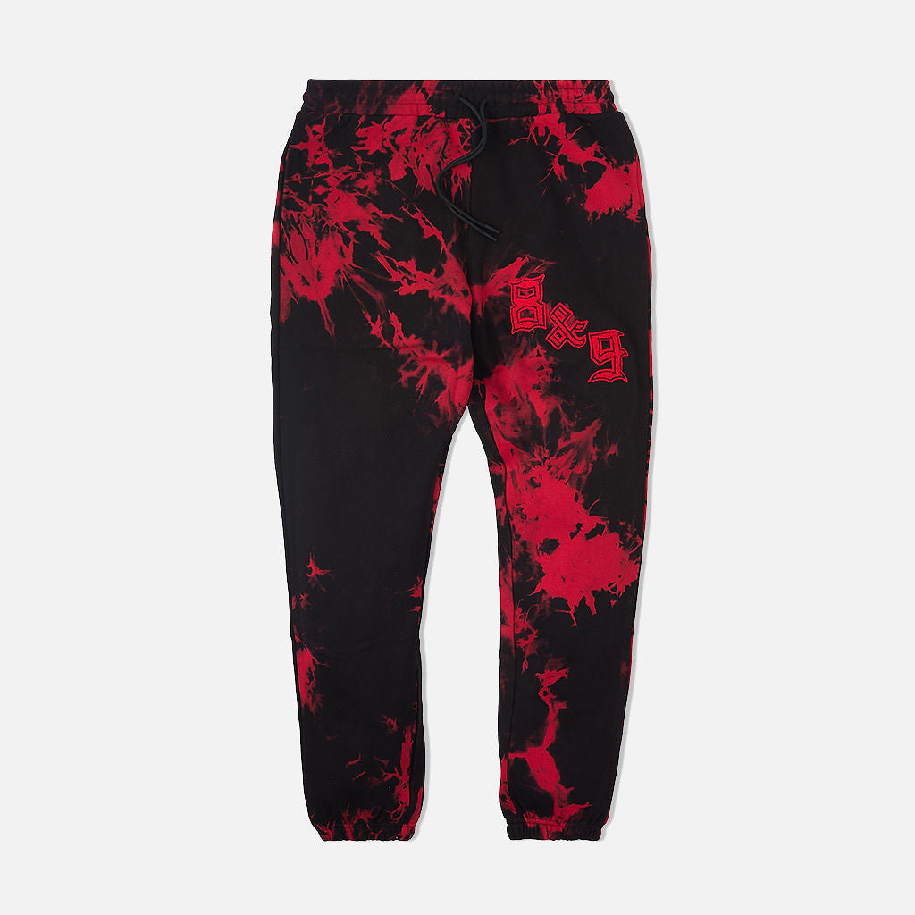 Chenille Bleached Cozy Sweatpants Bred