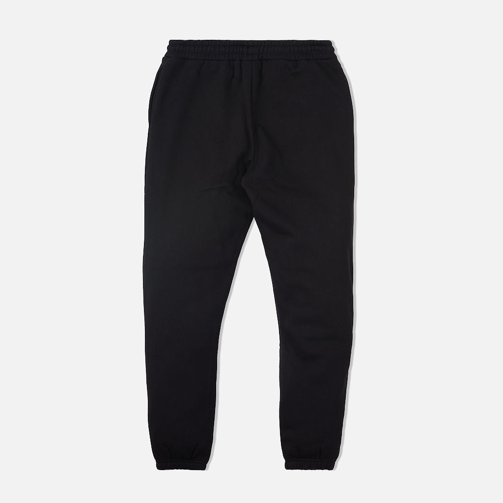 Chenille Cozy Sweatpants Black