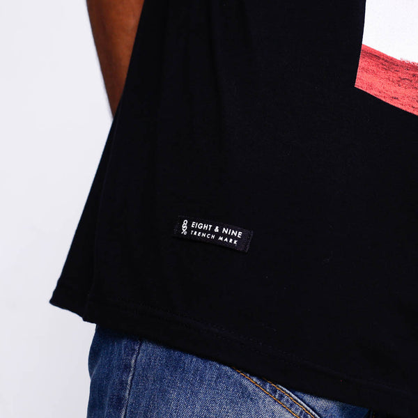 Choppin Black T Shirt detail 2