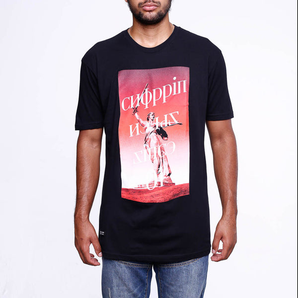 Choppin Black T Shirt front