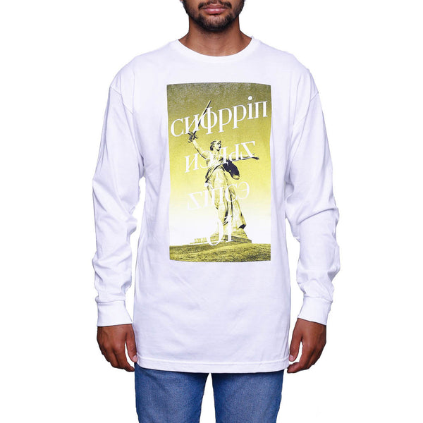 Choppin L/S White T Shirt