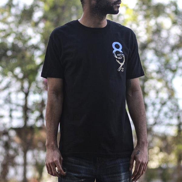 Chromium Keys T Shirt Black