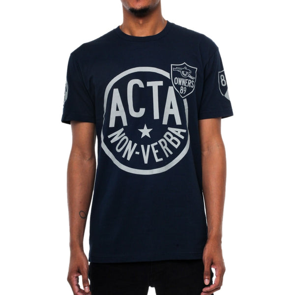 Club Acta Navy T Shirt