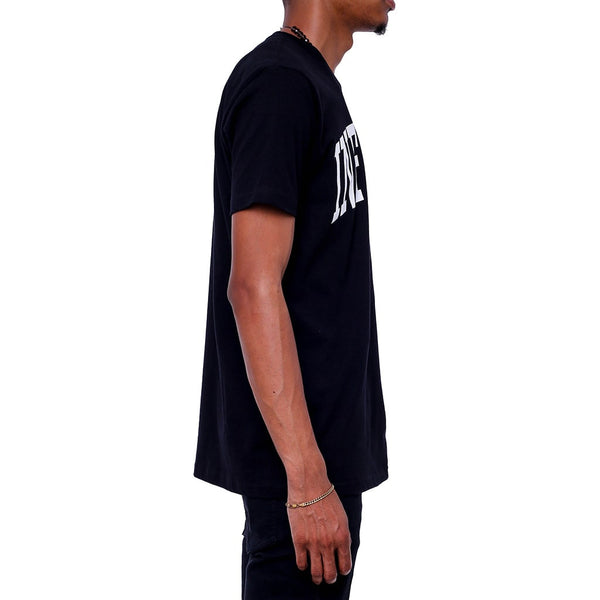 College T Shirt Black Right