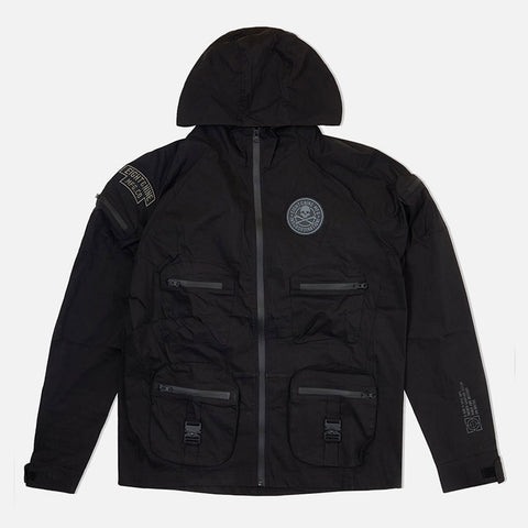 Combat Nylon Jacket Black