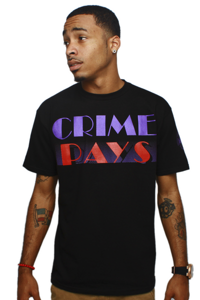 Crime Pays Raptors T Shirt - 1