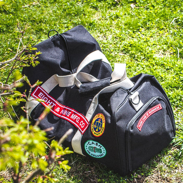 Custom COD Black Square Duffel Bag