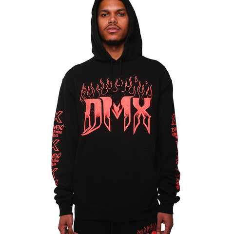 DMX Let Me Fly Hooded Sweatshirt Infrared