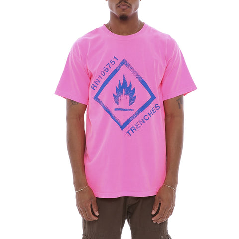 Danger T Shirt Pink