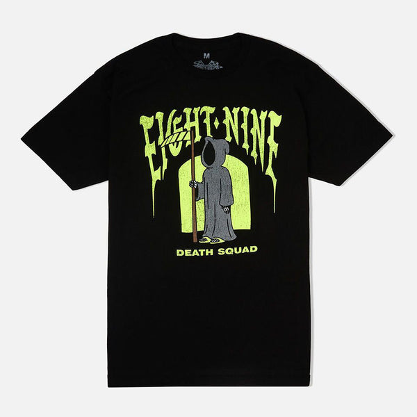 Death Squad T Shirt Black