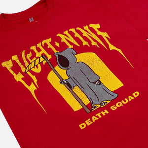 Death Squad T Shirt Red