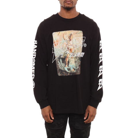 Demon Killer Long Sleeve Tee Black