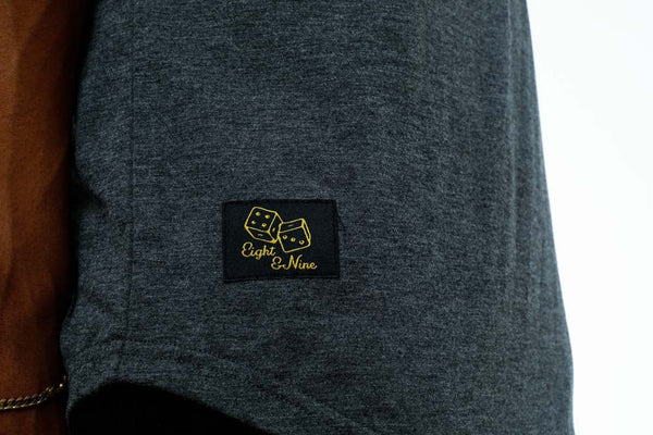 Dice Henley Black (3)
