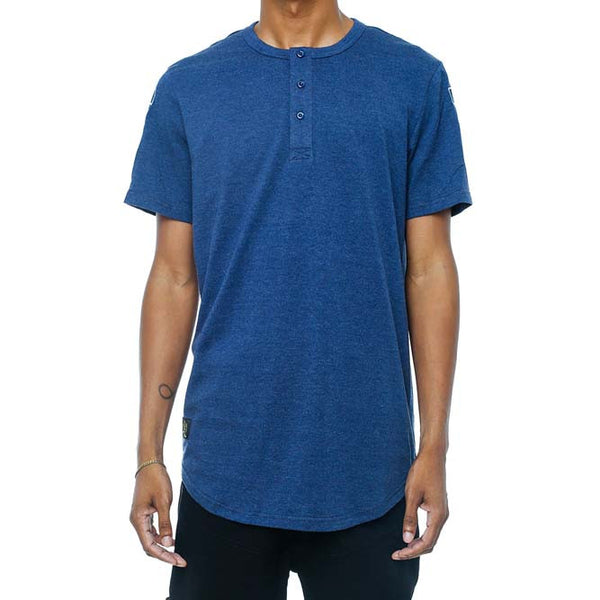 Dice Henley French Blue