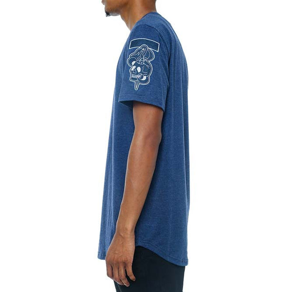 Dice Henley French Blue left