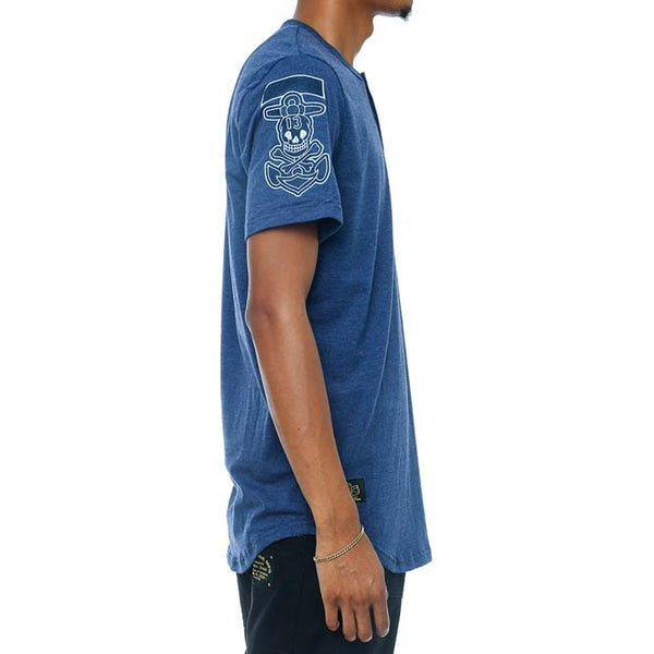 Dice Henley French Blue right