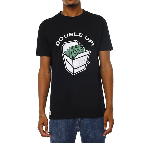 Double Up T-Shirt Black