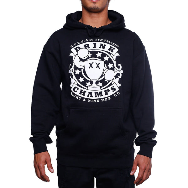 Drink Champs Army Hooded Sweatshirt front
