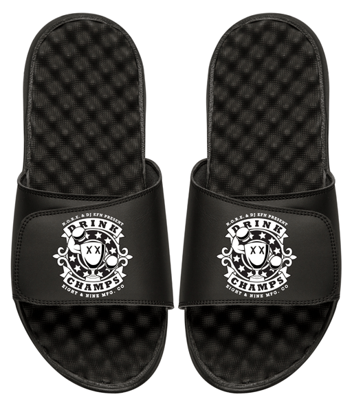 Drink Champs Army Slides Black