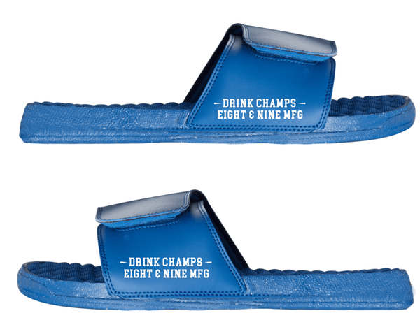 Drink Champs Army Slides Royal Speckle side