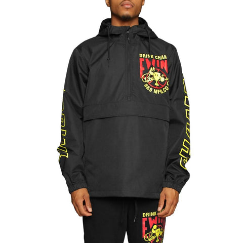 Drink Champs x Ewing Athletics Jacket Black