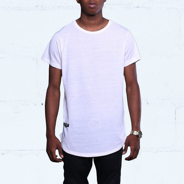 Eco White Tri-Blend T Shirt (1)