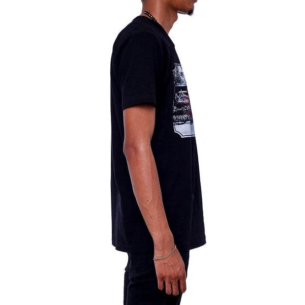 Everyman T Shirt Black side